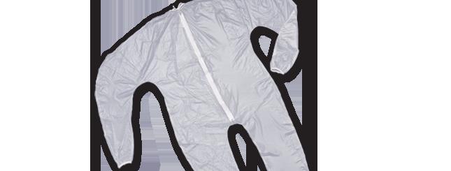 Peerless Unionalls Mortuary Garment