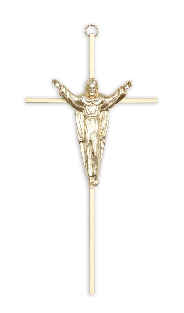 Chapel Interior Gold Risen Crucifix
