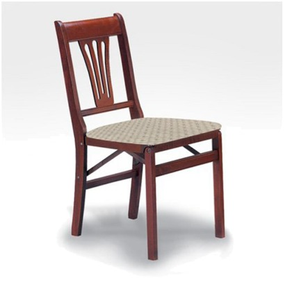 Stakmore Folding chair for Chapel or Funeral Homes.