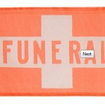 Banner Only Funeral Flag from Hopkins
