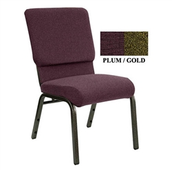 Padded Chapel Stacking Chair